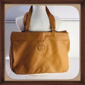 KD kicker and David Design Leather diaper bag GUC
